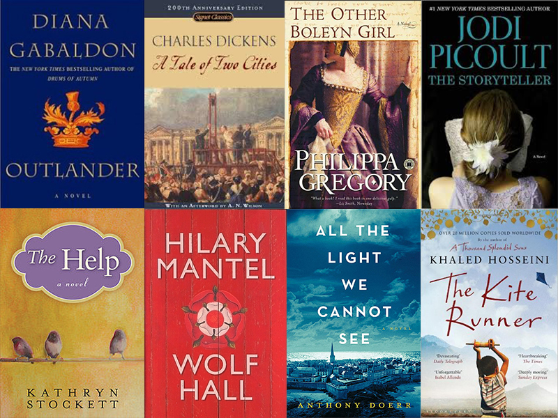 Most Popular Historical Fiction Books Pulse